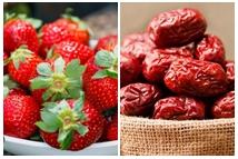 草莓红枣治贫血