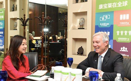 康宝莱全球CEO顾礼诗:让中国变得更健康、更快乐