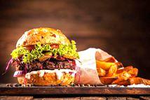 吃汉堡包可能引发抑郁