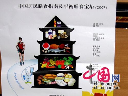 卫生部发中国居民膳食指南
